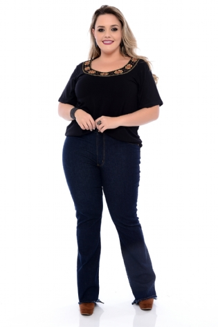 BLUSA BLENDA PLUS SIZE